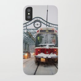 Snow Day iPhone Case