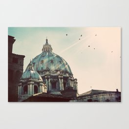 Basilica - Uncropped Color Canvas Print