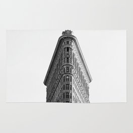 Flatiron Black and White NYC Rug