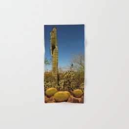 Saguaro and Mother in Law Pillow Hand & Bath Towel
