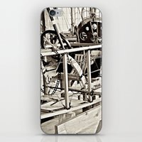 aviation iPhone & iPod Skins featuring Aviation Science by Simmons Universe