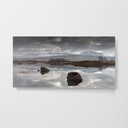 Rannoch Mor - Scotland Metal Print