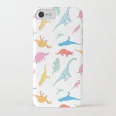 Dino Doodles iPhone 7 Slim Case