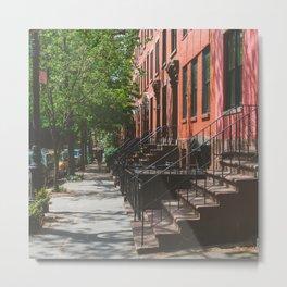 Brooklyn Summer Days Metal Print