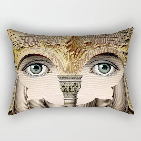 Architectural gaze Rectangular Pillow