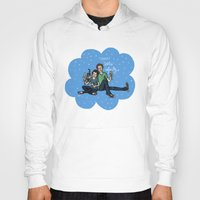 fault in our stars Hoodies featuring The Fault in Our Stars by Sarah Hopkins