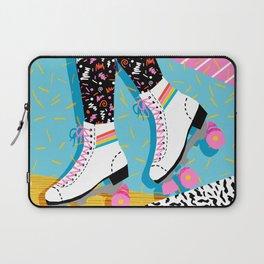 Steeze - 80's memphis rollerskating rad neon trendy art gifts throwback retro vibes Laptop Sleeve
