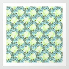 Pinapple x Ibisco Art Print