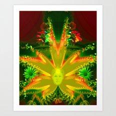 Hidden soul Art Print