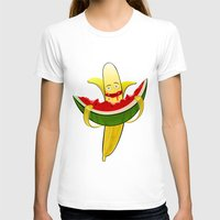 dessert T-shirts featuring Fruit dessert by Bakal Evgeny