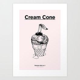 Summer Dicks No. 2 Art Print