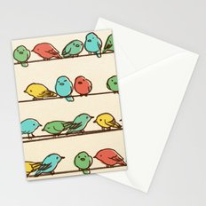 Hanging Out (multi-colored option) Stationery Cards