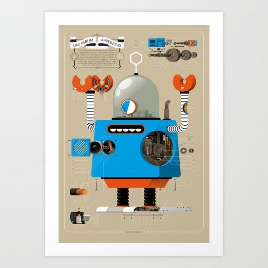 Anatomy Bot Art Print