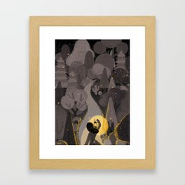 The Light Will Guides You Home Framed Art Print