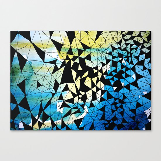 shatter Canvas Print