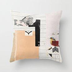 1 - Arrow Bird Throw Pillow