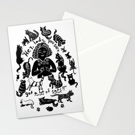 Hey, lady! Stationery Cards