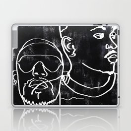 i can see the darkness in me and it's quite amazing Laptop & iPad Skin
