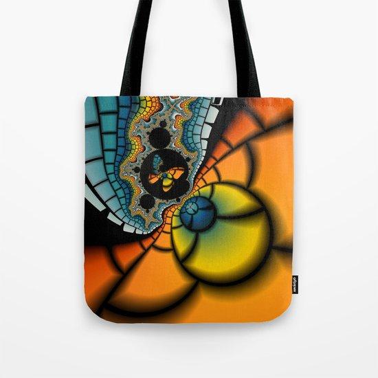 Fractal Cacoon Tote Bag