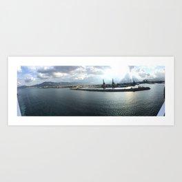 porto di Palermo Art Print