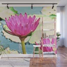 The Water Lily Wall Mural