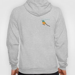 Orange-breasted sunbird - designed for bird lovers Hoody