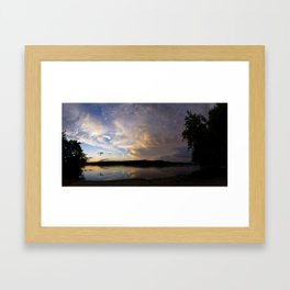 Passing Weather Framed Art Print