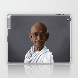 Celebrity Sunday ~ Mahatma Gandhi Laptop & iPad Skin