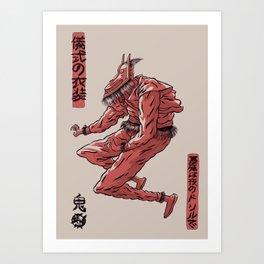 Oniben Art Print