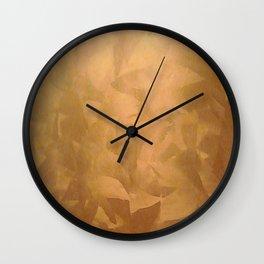 Beautiful Copper Metal - Corporate Art - Hospitality Art - Modern Art Wall Clock