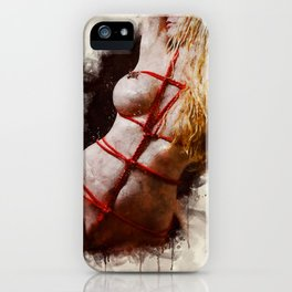 Shibari Body iPhone Case
