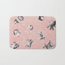Critter Pattern Bath Mat