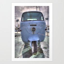 Lambretta Arcelik Lambro 200 Art Print