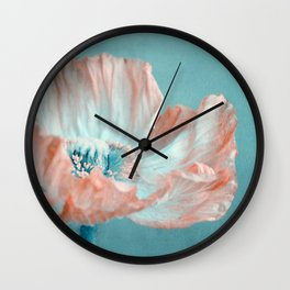 sweet poppy  Wall Clock
