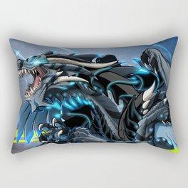 Shark Dragon Rectangular Pillow