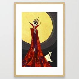 Pumpkin King Framed Art Print