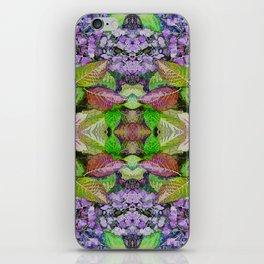 AUTUMN HYDRANGEA MANDALA iPhone Skin
