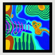 Music - The Elements - Air Art Print