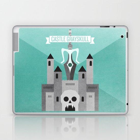 Castle Grayskull Laptop & iPad Skin