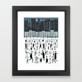 New York Skate of Mind Framed Art Print
