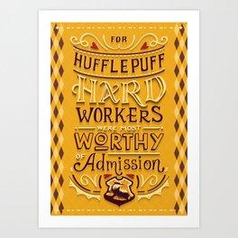 Hard Workers Art Print