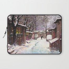 Snow alley Laptop Sleeve