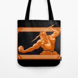 The Wrath of Zeus Tote Bag