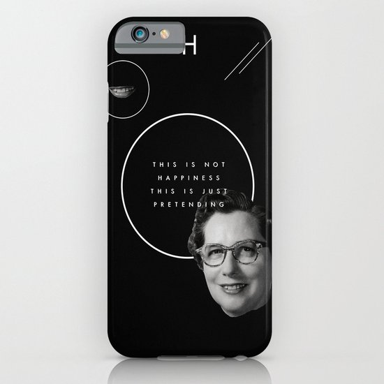 Fake smile sells everything. iPhone & iPod Case