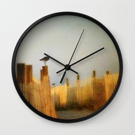 be still and breathe Wall Clock
