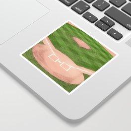 Baseball field Sticker