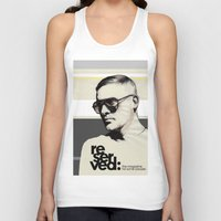 ben giles Tank Tops featuring Reserved Magazine Giles Deacon by Mitja Bokun