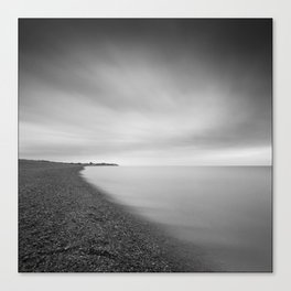 Aldeburgh Beach, towards Sizewell, Suffolk Canvas Print