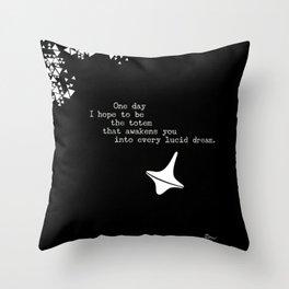 Awakening You Throw Pillow