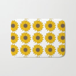 Sunflower Power Bath Mat
